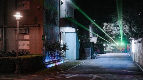 進駐藝術家「藝術光計劃」435賞燈夜遊