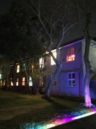 「藝術光計劃」星光茶會─進駐藝術家點亮「夜窗」光點派對