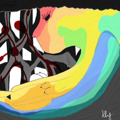 板橋435進駐藝術家徐顥恩個展 用繪畫誠實做自己
