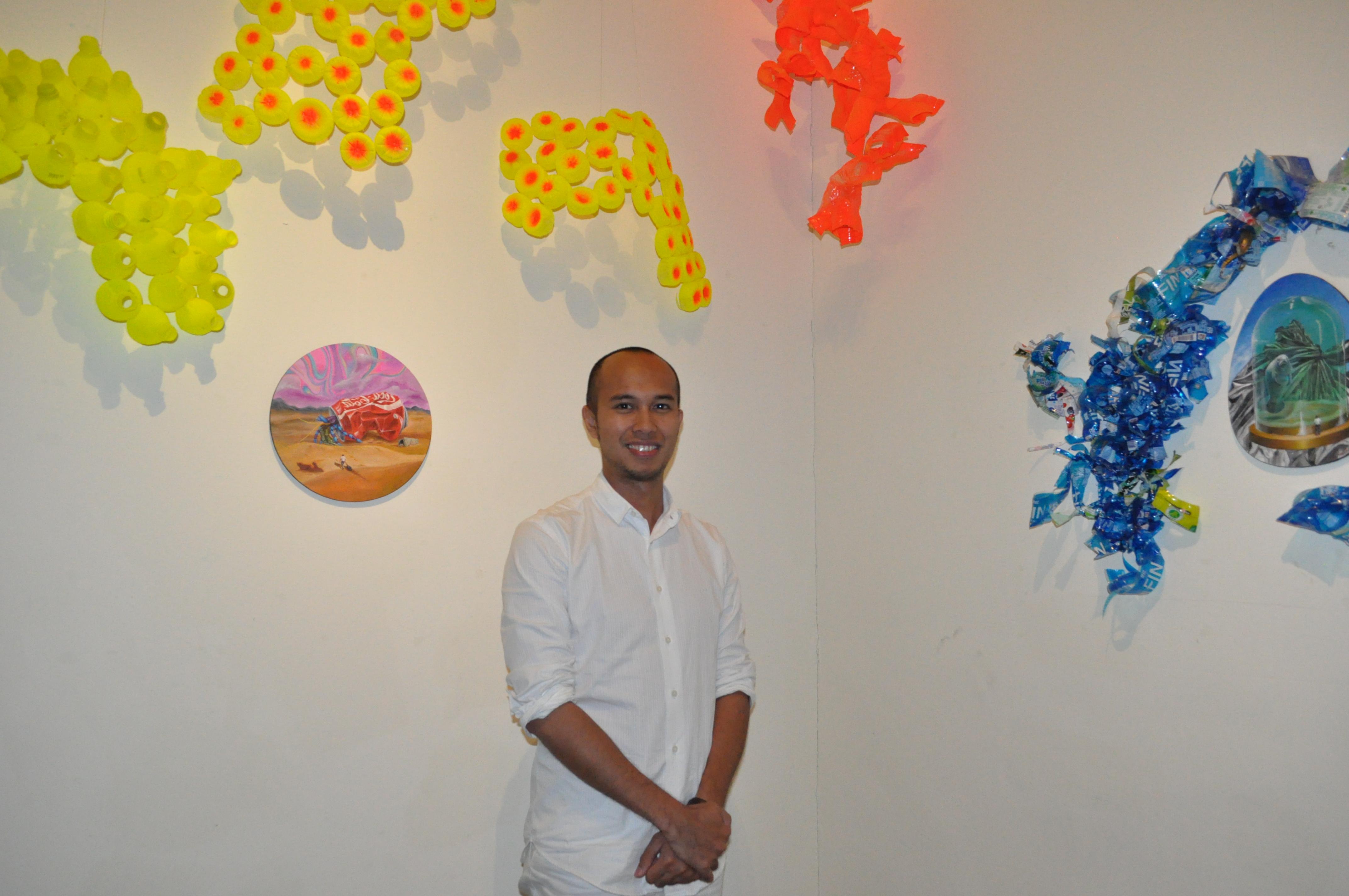 「垃圾」變身藝術品!繽紛珊瑚揭海洋生態危機