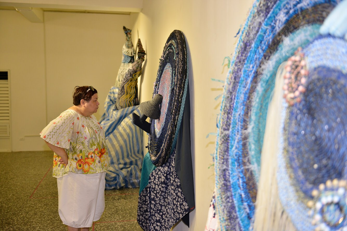 《幹山、幹海、幹垃圾》編織再生藝術 感性訴說環境關懷