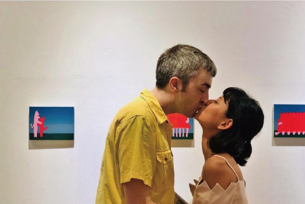 我們擁有彼此 跨國藝術家攜手曬恩愛
